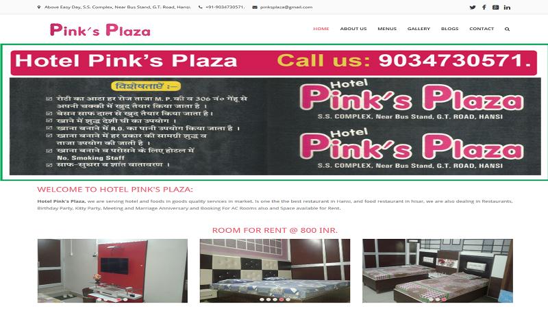 Hotel Pinks Plaza